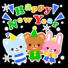 New Year Sticker2016 sticker #8755629