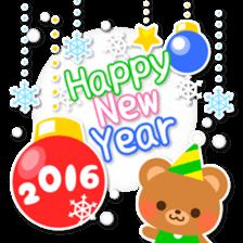 New Year Sticker2016 sticker #8755630