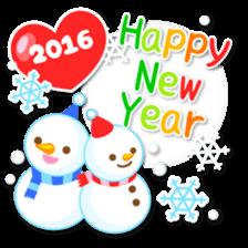 New Year Sticker2016 sticker #8755636