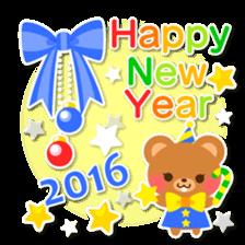 New Year Sticker2016 sticker #8755638