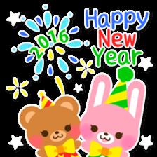 New Year Sticker2016 sticker #8755639