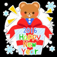 New Year Sticker2016 sticker #8755640