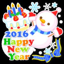 New Year Sticker2016 sticker #8755643