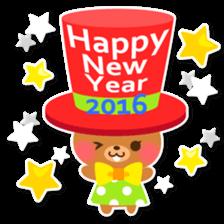 New Year Sticker2016 sticker #8755644