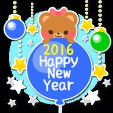 New Year Sticker2016 sticker #8755645