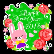 New Year Sticker2016 sticker #8755646