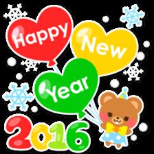 New Year Sticker2016 sticker #8755647