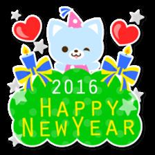 New Year Sticker2016 sticker #8755649