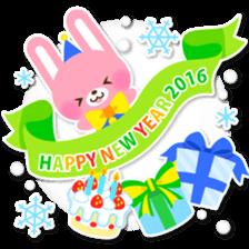 New Year Sticker2016 sticker #8755650