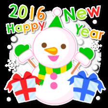 New Year Sticker2016 sticker #8755654