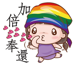 Adorable Girl sticker #8756226