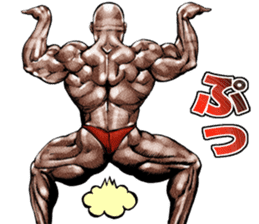 Muscle macho sticker 5 sticker #8756298