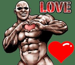 Muscle macho sticker 5 sticker #8756300