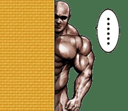 Muscle macho sticker 5 sticker #8756307