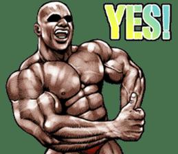 Muscle macho sticker 5 sticker #8756324