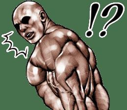 Muscle macho sticker 5 sticker #8756331