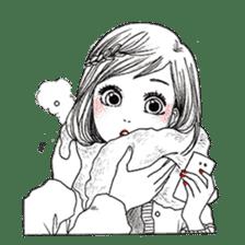 Doodle Girl sticker #8756865