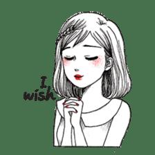 Doodle Girl sticker #8756885