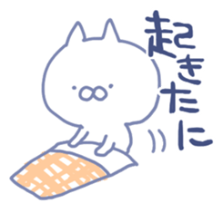 mikawa cat 3 sticker #8757847