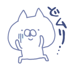 mikawa cat 3 sticker #8757852