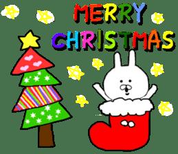 Merry Christmas nice night sticker #8758018