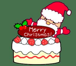 Merry Christmas nice night sticker #8758020