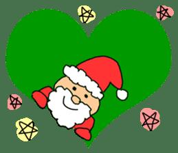 Merry Christmas nice night sticker #8758024