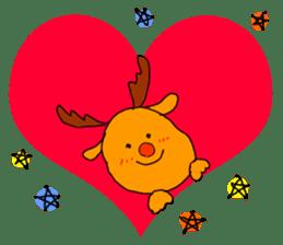 Merry Christmas nice night sticker #8758025