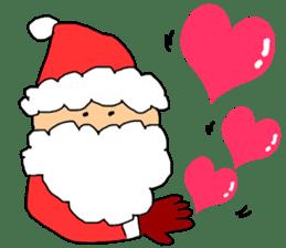 Merry Christmas nice night sticker #8758037