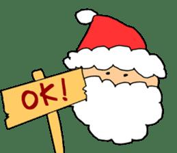Merry Christmas nice night sticker #8758038