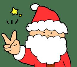 Merry Christmas nice night sticker #8758040