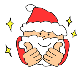 Merry Christmas nice night sticker #8758041