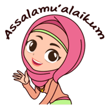 Hijab Girl, Nadia sticker #8761738