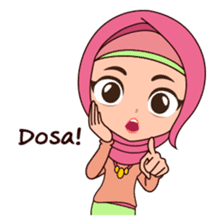 Hijab Girl, Nadia sticker #8761740