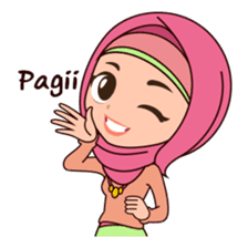 Hijab Girl, Nadia sticker #8761741