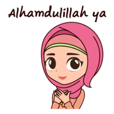 Hijab Girl, Nadia sticker #8761746