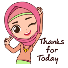 Hijab Girl, Nadia sticker #8761749