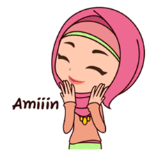 Hijab Girl, Nadia sticker #8761754