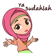 Hijab Girl, Nadia sticker #8761763