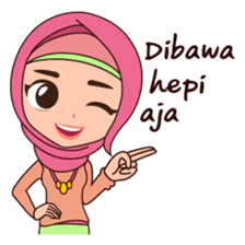 Hijab Girl, Nadia sticker #8761765