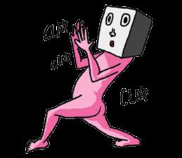 CuteCubeMAN!! sticker #8767612