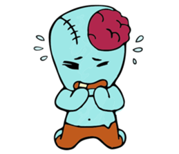 zombie friend sticker #8770186