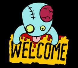 zombie friend sticker #8770192
