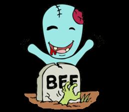 zombie friend sticker #8770201