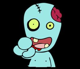 zombie friend sticker #8770203