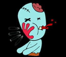 zombie friend sticker #8770207