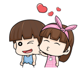 My dear hubby (EN) sticker #8772356
