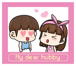 My dear hubby (EN) sticker #8772377