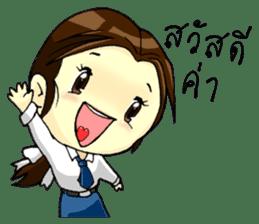 3 Thai Convent School Girls sticker #8776898