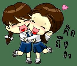 3 Thai Convent School Girls sticker #8776908